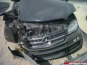 Мелитопольский водитель за один раз разбил три автомобиля