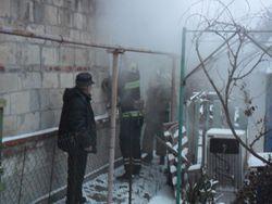 В Бердянске пенсионер задохнулся в дыму