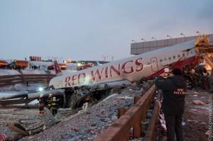 Авиакатастрофа в России. Есть жертвы