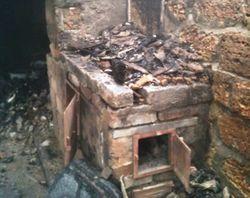 В Запорожье сгорел человек