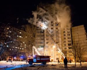 После взрыва в Харькове погибли люди
