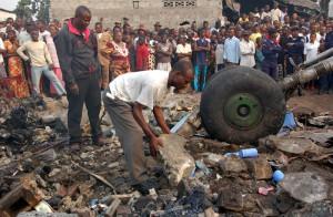 В Африке разился самолет с пассажирами