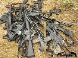 В Запорожье закончился месячник добровольной сдачи оружия