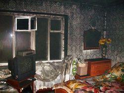 В Вольнянском районе праздник Рождества был омрачен пожаром