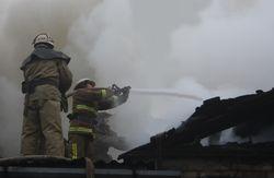 На окраине Запорожья едва не сгорел дом
