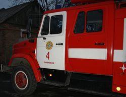 В Запорожье горел частный дом