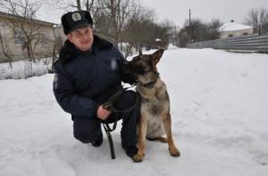 Собака нашла пенсионерку