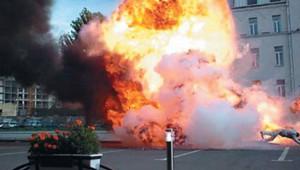 В Днепропетровске вновь звучат взрывы