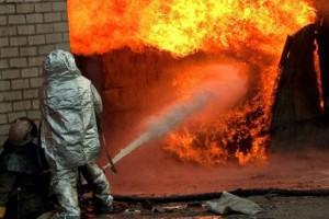При пожаре в Запорожье пострадал человек