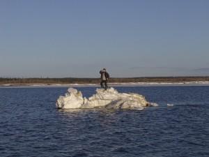 В Запорожье ищут рыболовов
