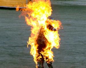 На Луганщине мужчина сжег себя из-за отключения электричества