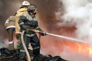 В Запорожской области при пожаре погиб человек