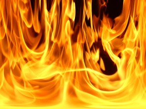 В Бердянске потушен масштабный пожар