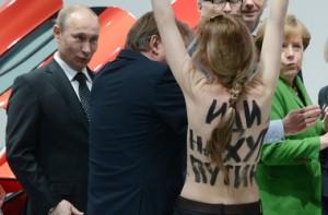 В В Германии на активисток Femen завели уголовное дело