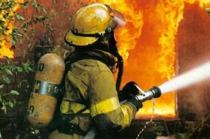 В Запорожье потушен масштабный пожар