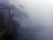 В Вольнянском районе произошел пожар в двухэтажном доме
