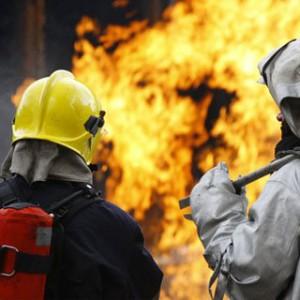 В Запорожье произошел пожар электрощитовой