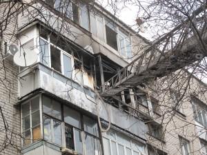 В Запорожье горела квартира многоэтажного дома