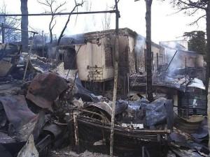 В Вольнянском районе пенсионер задохнулся в дыму