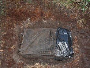 В Крыму обнаружен труп в зеленом чемодане