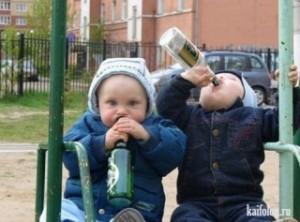 Мальчик перепутал компот с вином и угодил в реанимацию