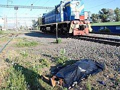 На Львовщине мужчина бросился под поезд