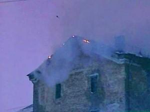 Пожар в Акимовской районе: сгорело 4 тонны кормов