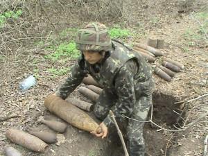 В Запорожской области обезвредили боеприпасы Великой Отечественной войны