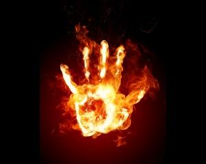 В Запорожской области при пожаре погиб пенсионер
