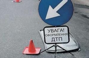 При столкновении с велосипедом перевернулся... внедорожник