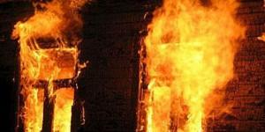 В Запорожском районе сгорел дом