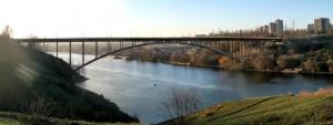 Запорожский арочный мост: новая жертва
