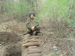В Запорожской области уничтожили 13 боеприпасов времен Второй мировой