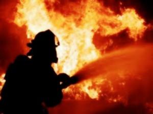 В Запорожье горел многоэтажный дом