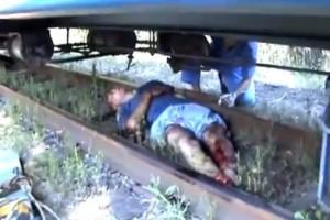На Львовщине поезд раздавил мужчину