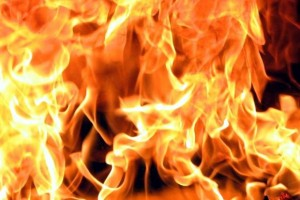 В Мелитополе горело здание СБУ?