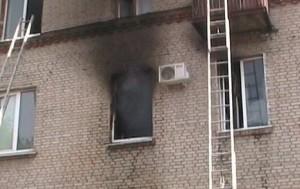 В Запорожье потушили пожар в пятиэтажке. Есть пострадавшие