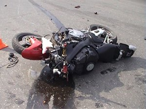 В Запорожской области насмерть разбился мотоциклист
