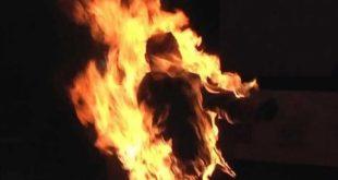 В Житомире бывший зэк чуть не сжег 16-летнюю дочь