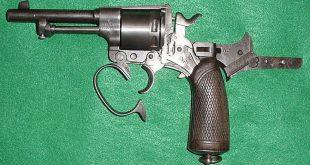 У запорожца отобрали револьвер, принятый на вооружение в 1878 году
