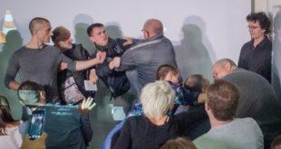 В Одессе, на лекции о каннибализме произошла поножовщина
