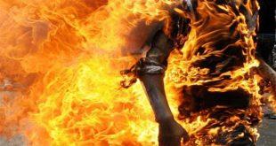 На Закарпатье драка с огоньком