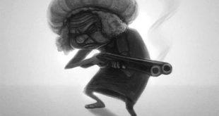 В Бердичеве 83-летняя старушка повздорила с соседом и расстреляла его из ружья