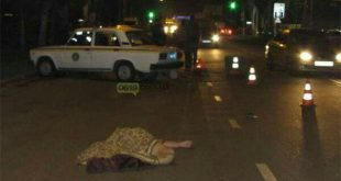 В Мелитополе спецслужбист задавил пешехода