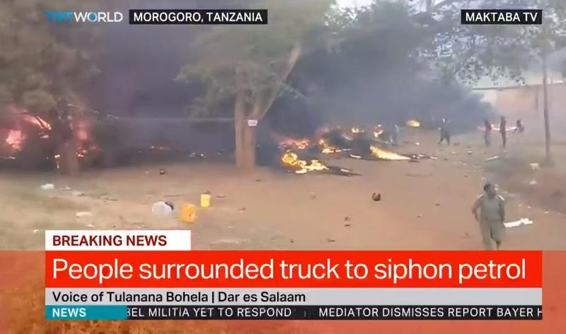 Закурил у бензовоза - 60 человек сгорело заживо